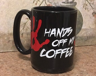 Funny Coffee Mug, Horror Gift, Funny Gift, Horror Coffee Mug, Funny Horror Gift, Gift for Anyone, Black Coffee Mug
