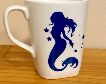 Mermaid, Mermaid Mug, Birthday Gift, Ocean Gift, Coffee Mug, Gift for Ocean Lover, Ocean Theme, Mermaid Art, Housewarming Gift, Mug