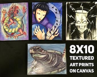 Mini Art, Steampunk Art, Art Print, Handmade Art, Home Decor, Housewarming Gift, Ocean Art,