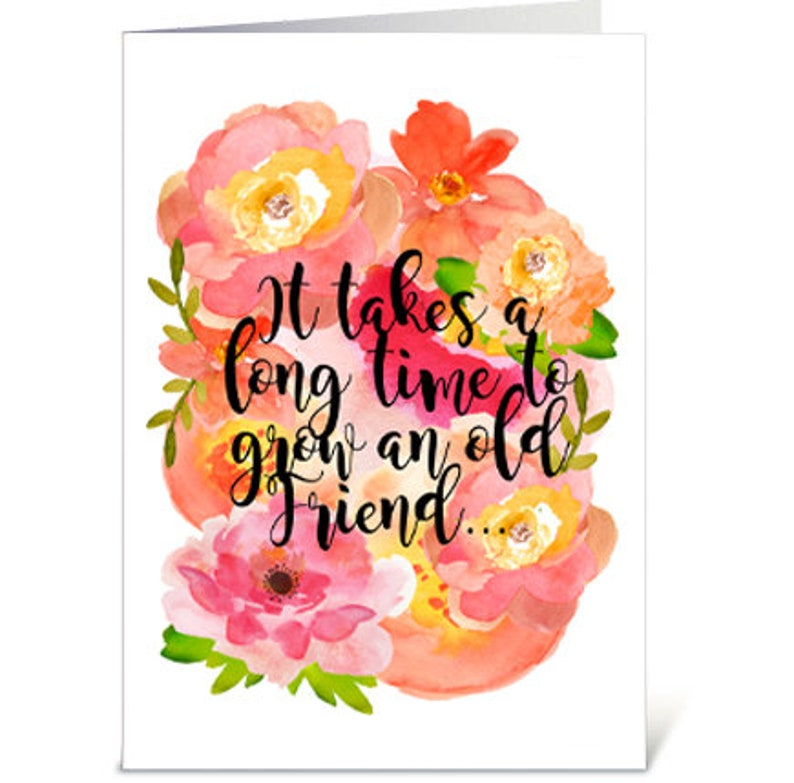 picture relating to Free Printable Cards for All Occasions identified as All Bash Greeting Card, Friendship Printable Card