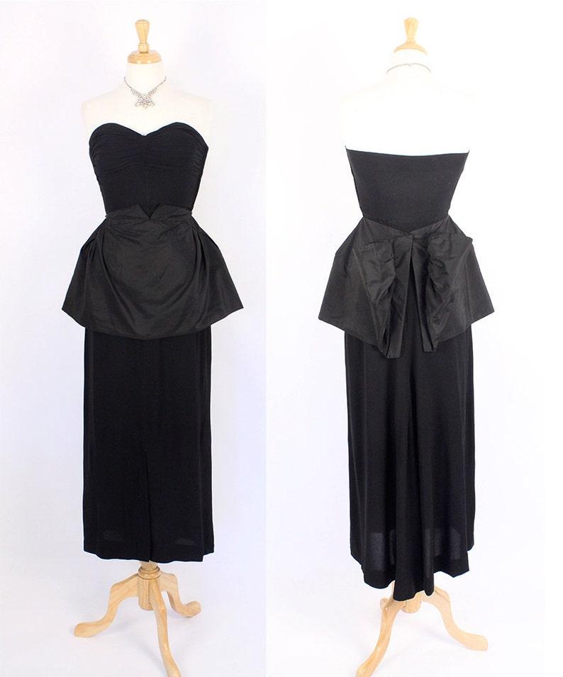 Peplum Strapless Dresses