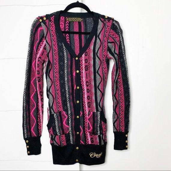 90's Vintage COOGI Cardigan M