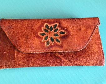 Vintage Leather Wallet free shipping