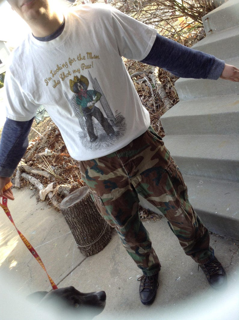 Vintage hipster camouflage pants fits size small free domestic shipping