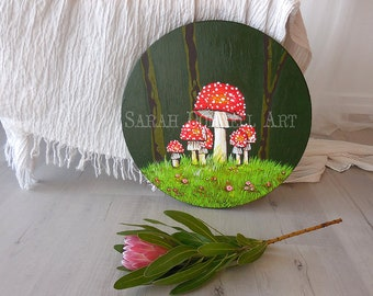 Rebirth, Woodland Decor, Wall Art, Forest Art, Tree Art, Fantasy Forest, Nature Wall Art, Fantasy Landscape, Magic Forest, Wildlife,