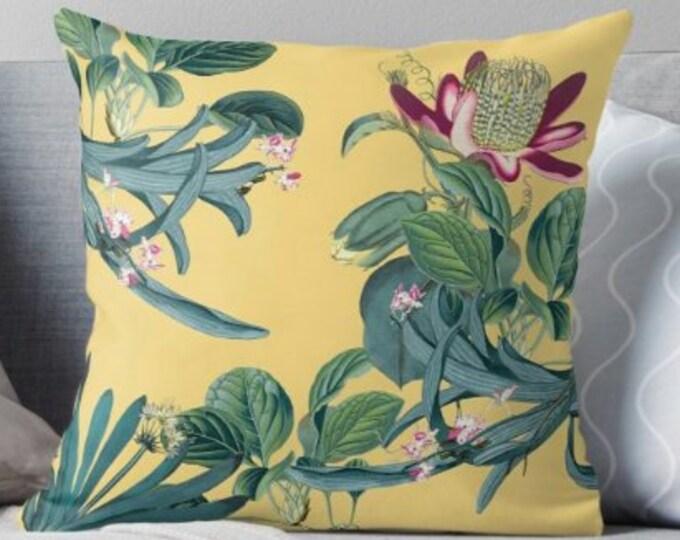 Jungle Print Pillow