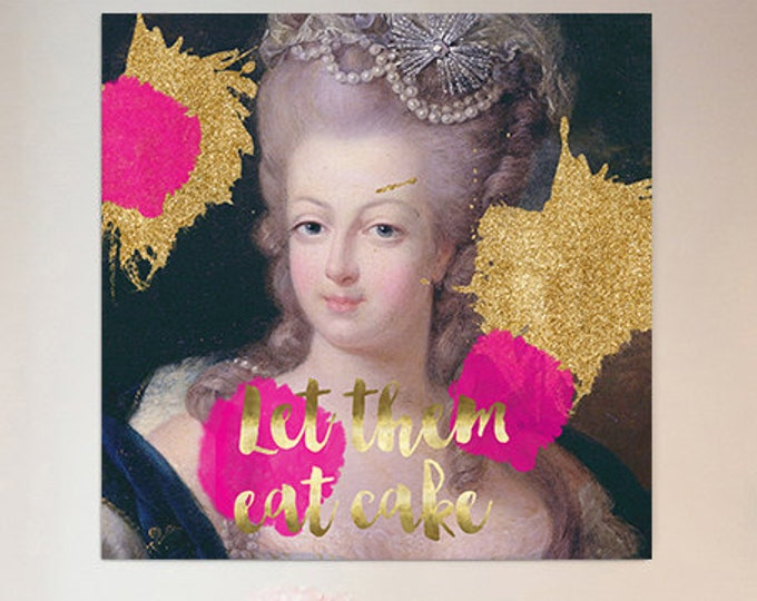 Marie Antoinette print - French decor