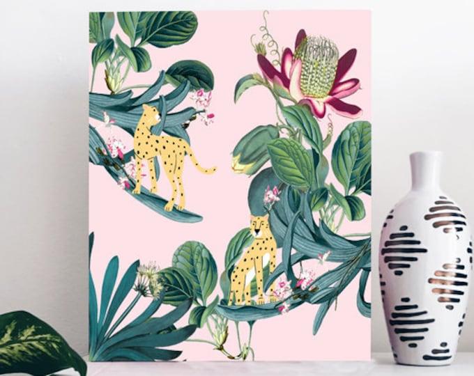 Jungle Print - Cheetah Wall Print