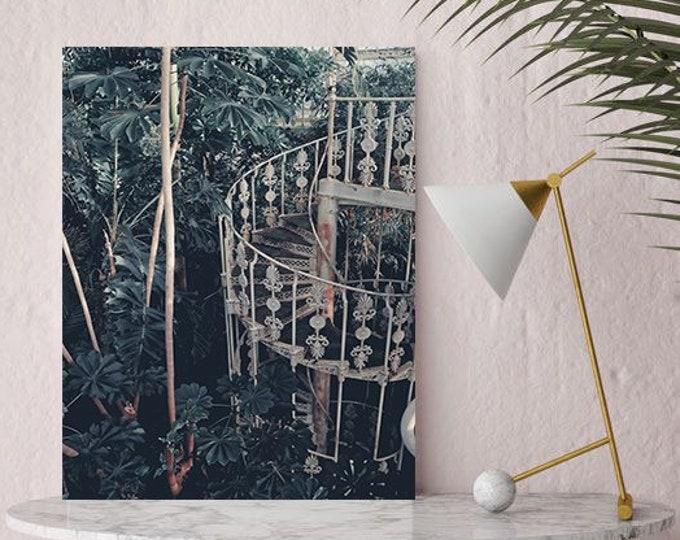 Leaf print, Botanical wall art, Large wall print
