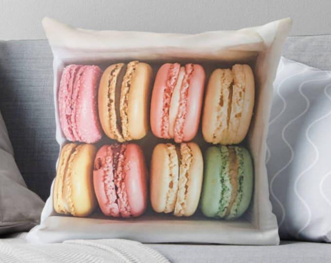 Paris throw pillow - pillow insert - Paris, Pastel pillow