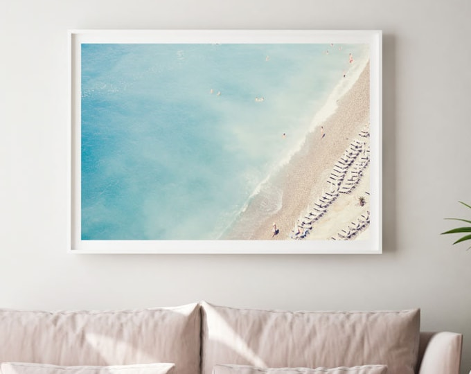 French Riviera Photography Print - Nautical Photography Print - Beach photography - French - Paris