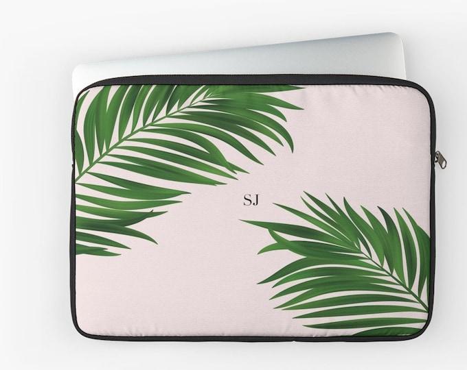 Personalized palm print laptop case, Monogrammed laptop case, mac case, Monogrammed gift, gift for her