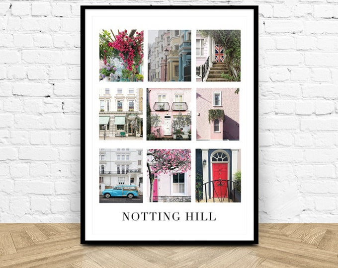 Notting Hill Photography Print - London photography print