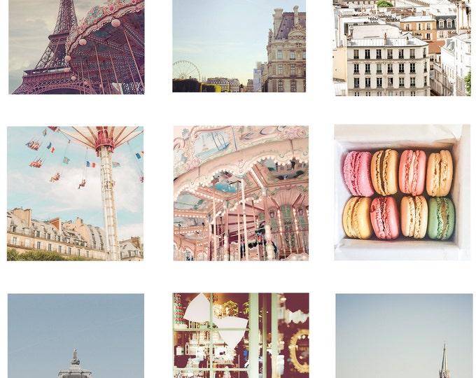 Paris Print - Set of Paris Photography