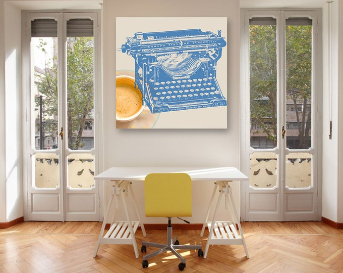 Literary print - Office decor - Gifts for writers