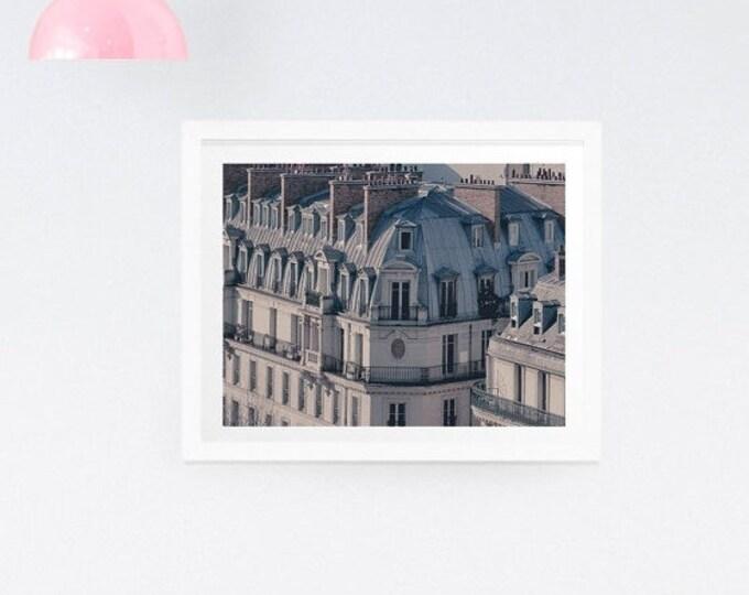 Paris Photography Print, Paris Building Photo, Paris Wall Art