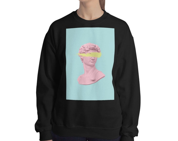 David Bust Sweater, Aesthetic Sweater