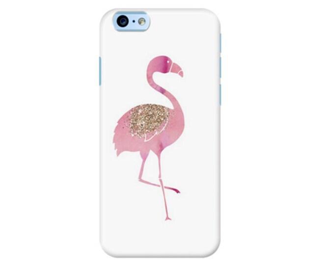 Flamingo iPhone case, iPhone 8 case, iPhone 7 case, rose gold iPhone case