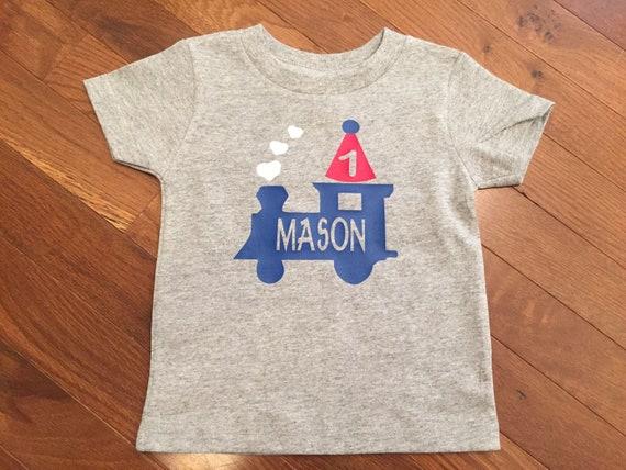 Train Birthday Shirt Toddler Boy 3rd