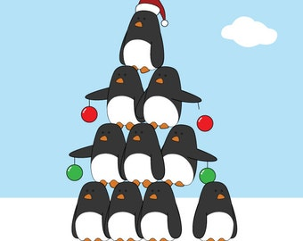 Penguin pyramid