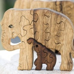 Elephant puzzle, Wooden puzzle, Wooden toy, Wood puzzle for adults & kids, Animal puzzle, Handmade, Jigsaw puzzle, Wood working, Wood toys.