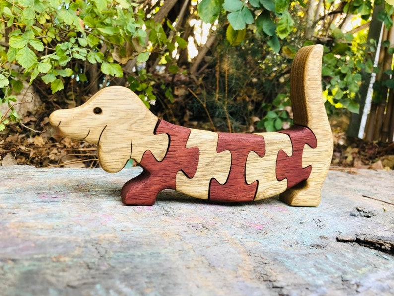 A Jigsaw Puzzle All in Pieces with A Dachshunds Needing to Be Rescued Hoodie