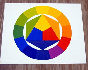 Color Wheel/Print