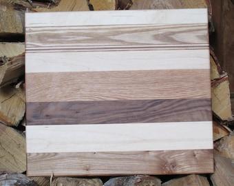 Reclaimed wood cutting board