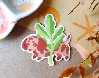 Dachschund Sticker 6cm - Puppy Sticker - Vinyl Sticker - Dog Lover - Cute & Kawaii Stationery - Geeniejay