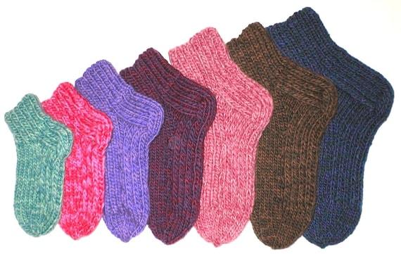 Knitting Pattern Scrumptious Slip Stitch Slipper Socks Quick Etsy