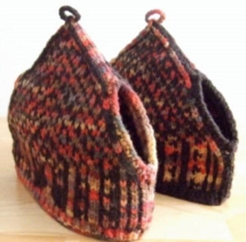Knitting Pattern-Tree of Life Tea Cozy spouted Fair Isle ...