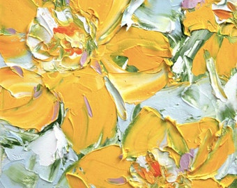 Fresh Flowers Triptych No.11-1, limited edition of 50 fine art giclee prints