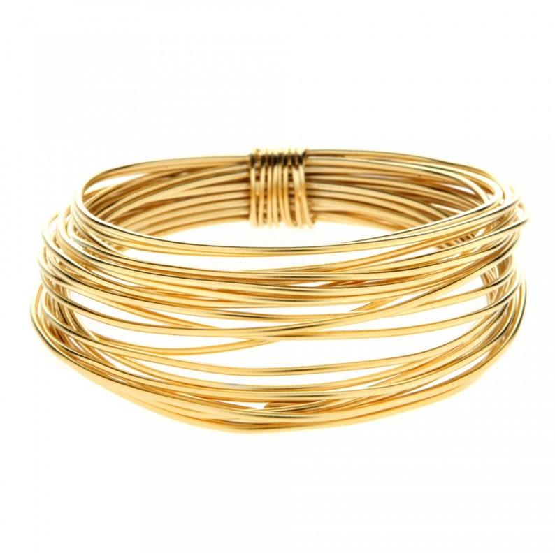 a884ef70ad2 Gold Cuff Bracelet Bangle Bracelets Stack Gold Statement | Etsy
