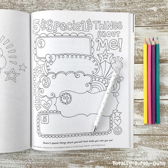 880 Go Girl Coloring Book HD