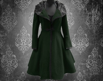 Winter coat Dark Green