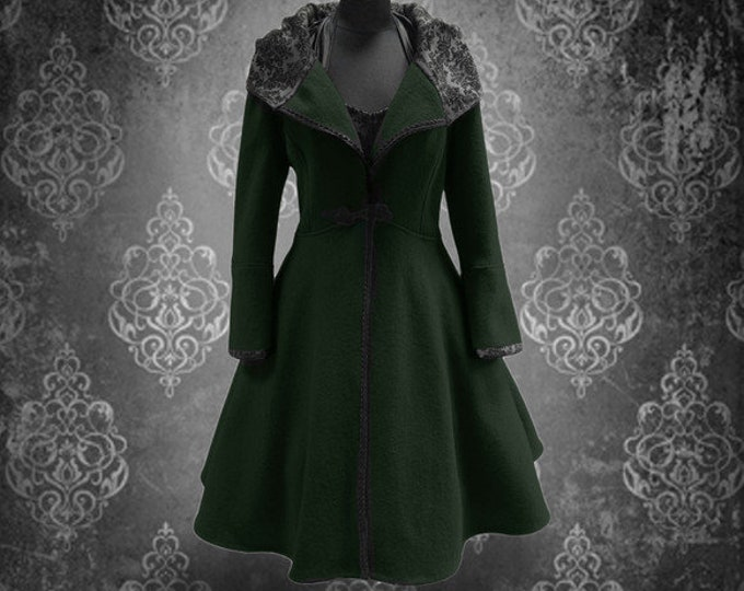 Winter coat Dark Green