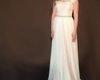 Boho Wedding dress Vintage Style