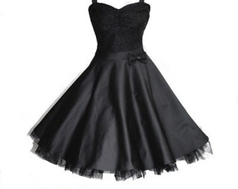 Wow Black petticoat or Konfirmationkleid