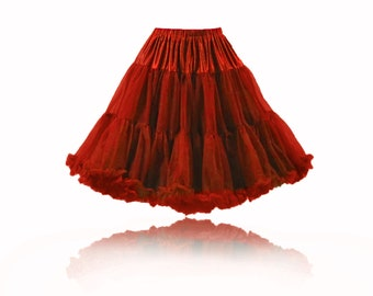 Petticoat Pettycoat Bright Red Red