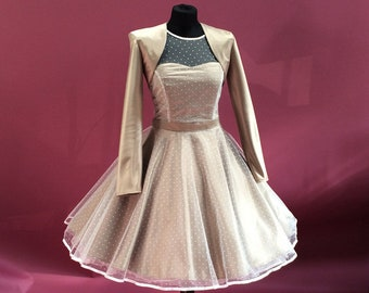 Beautiful bolero for Petticoatbrautkleid