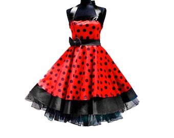 Hot Rockabilly Swing Dress 50s Vintage style