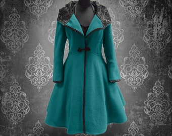Winter Magic with this coat--measure versions!