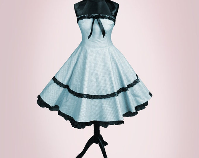 Black Petticoat Customized 50s style