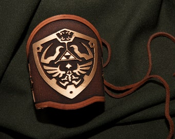 Legend of Zelda Inspired Wrist Bracers