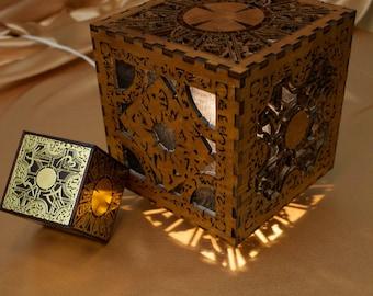Hellraiser Lament Configuration Inspired Lamp