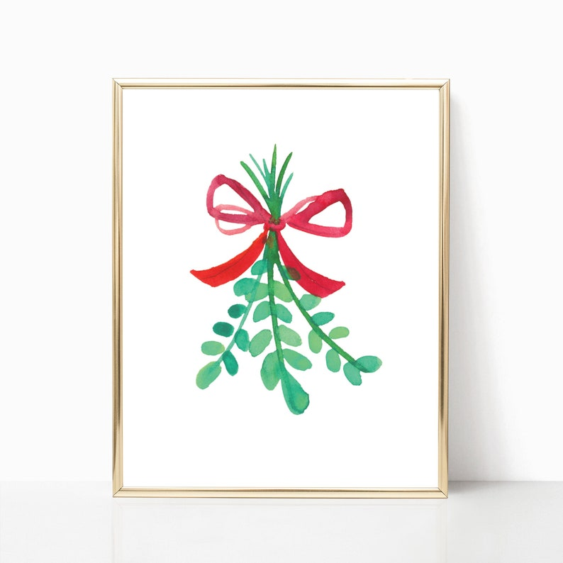 picture relating to Printable Mistletoe identify Mistletoe Print · Xmas Printable · Mistletoe Xmas Wall Artwork Decor · Xmas Indicator · Family vacation Poster · Winter season Print · Electronic Document