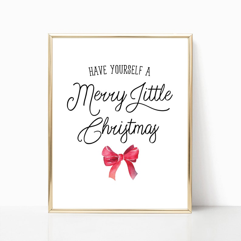 Have Yourself A Merry Little Christmas Lyrics.Have Yourself A Merry Little Christmas Print Christmas Song Printable Holiday Wall Decor Christmas Lyrics Sign Poster Digital File