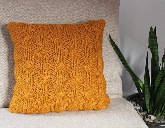 Crochet Pattern in 4ply for 4 cushion covers 2 x Knit /& 2 x crochet Knitting