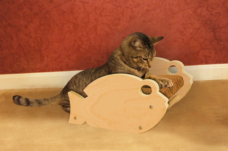 TinoFish  Fish Shaped Cat Scratcher image 0