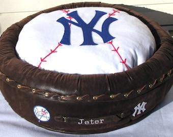 Custom Sports Team Tribute Pet Bed